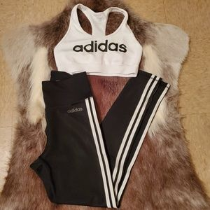 Adidad sports Bra & Leggings